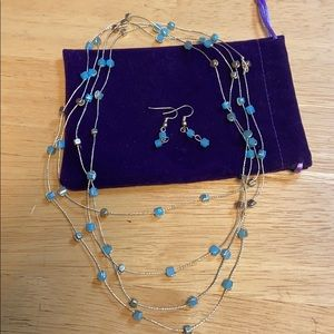 Jewelry - Earring and Necklace Set
